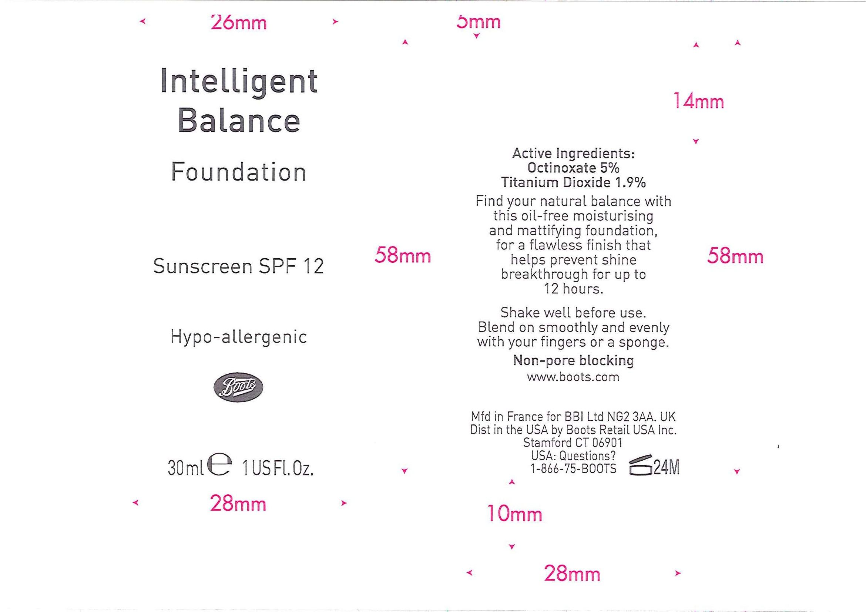 Is No7 Intelligent Balance Foundation Sunscreen Spf12 New Ivory 10 safe while breastfeeding