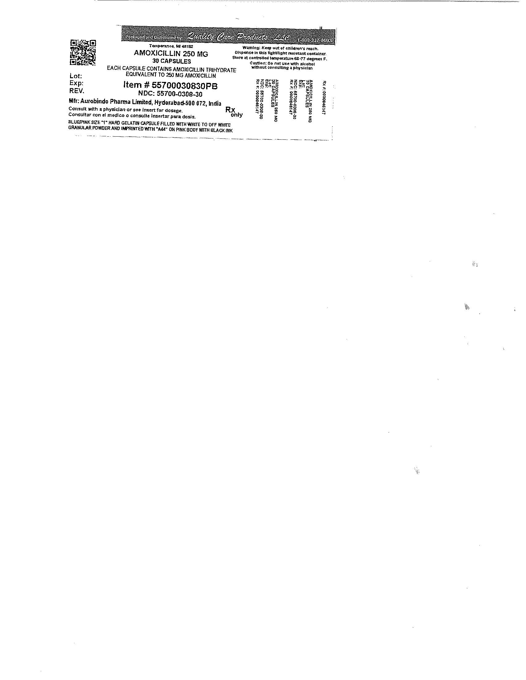 Amoxicillin   Lake Erie Medical Dba Quality Care Products Llc while Breastfeeding