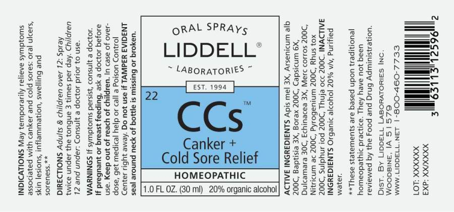 Canker + Cold Sore Relief