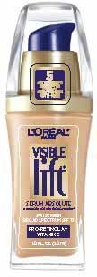 Loreal Paris Visible Lift Serum Absolute Advanced Age Reversing Makeup Broad Spectrum Spf 17 and breastfeeding