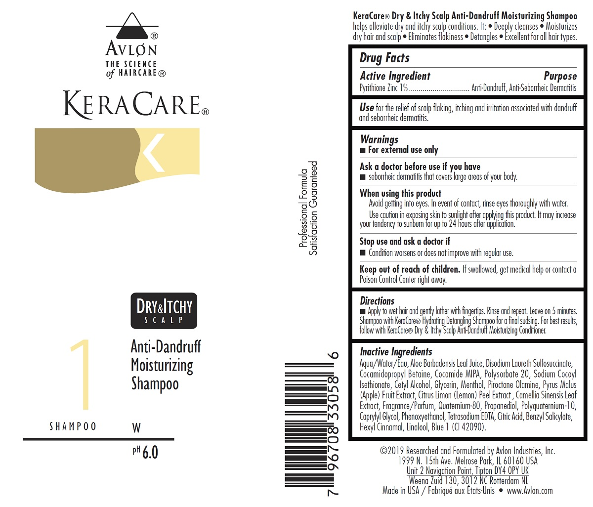 Keracare Dry And Itchy Scalp Anti