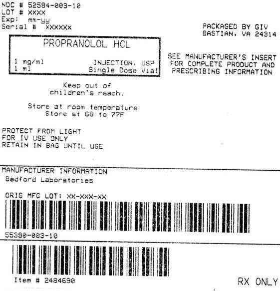 Propranolol Hydrochloride 1 Mg In 1 Ml while Breastfeeding