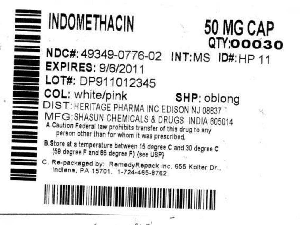 Indomethacin   Remedyrepack Inc. Breastfeeding
