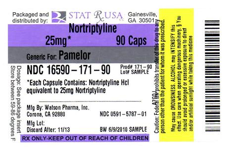 NORTRIPYLINE 25MG LABEL IMAGE