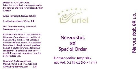 Nervus Stat. 8 Special Order Liquid Breastfeeding