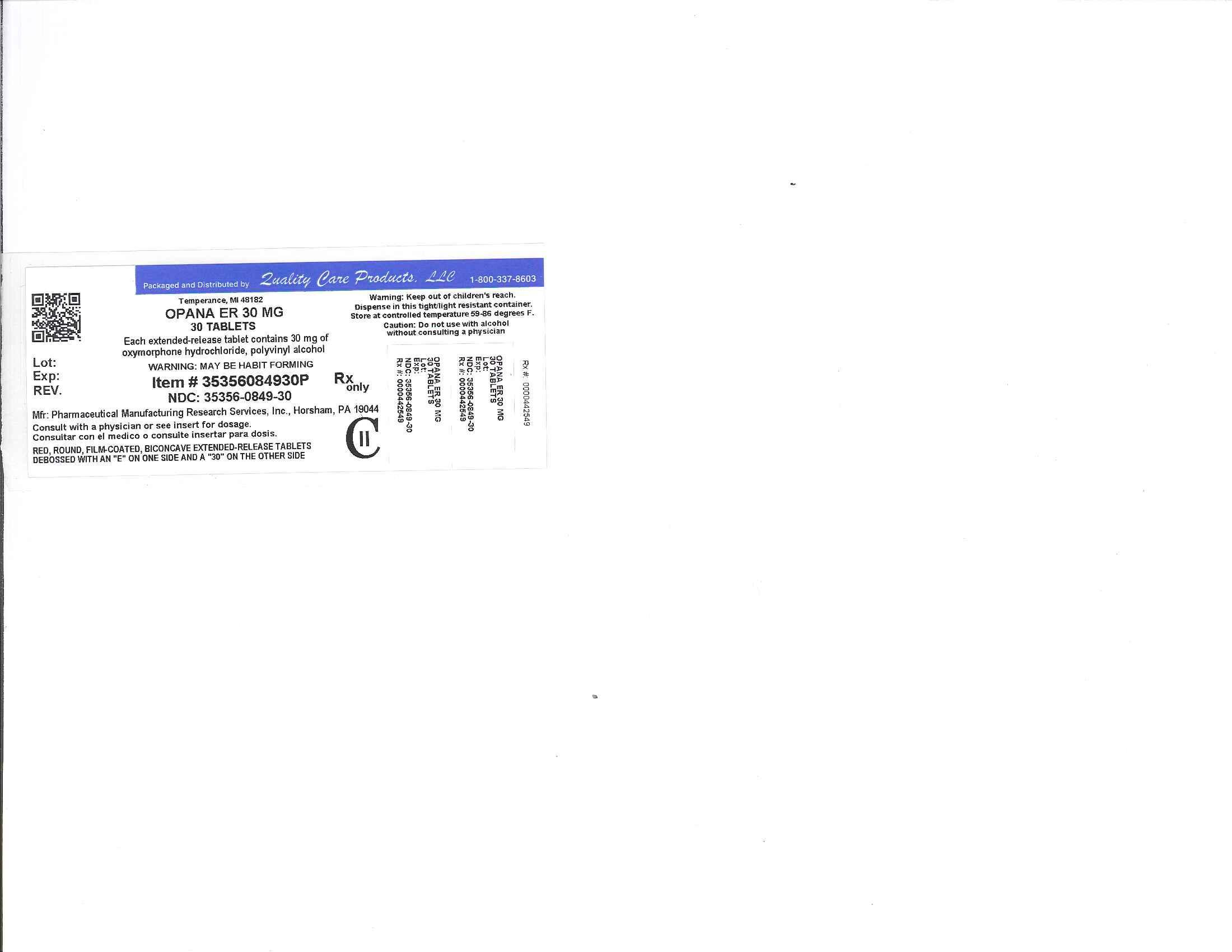 Image of 40mg Label