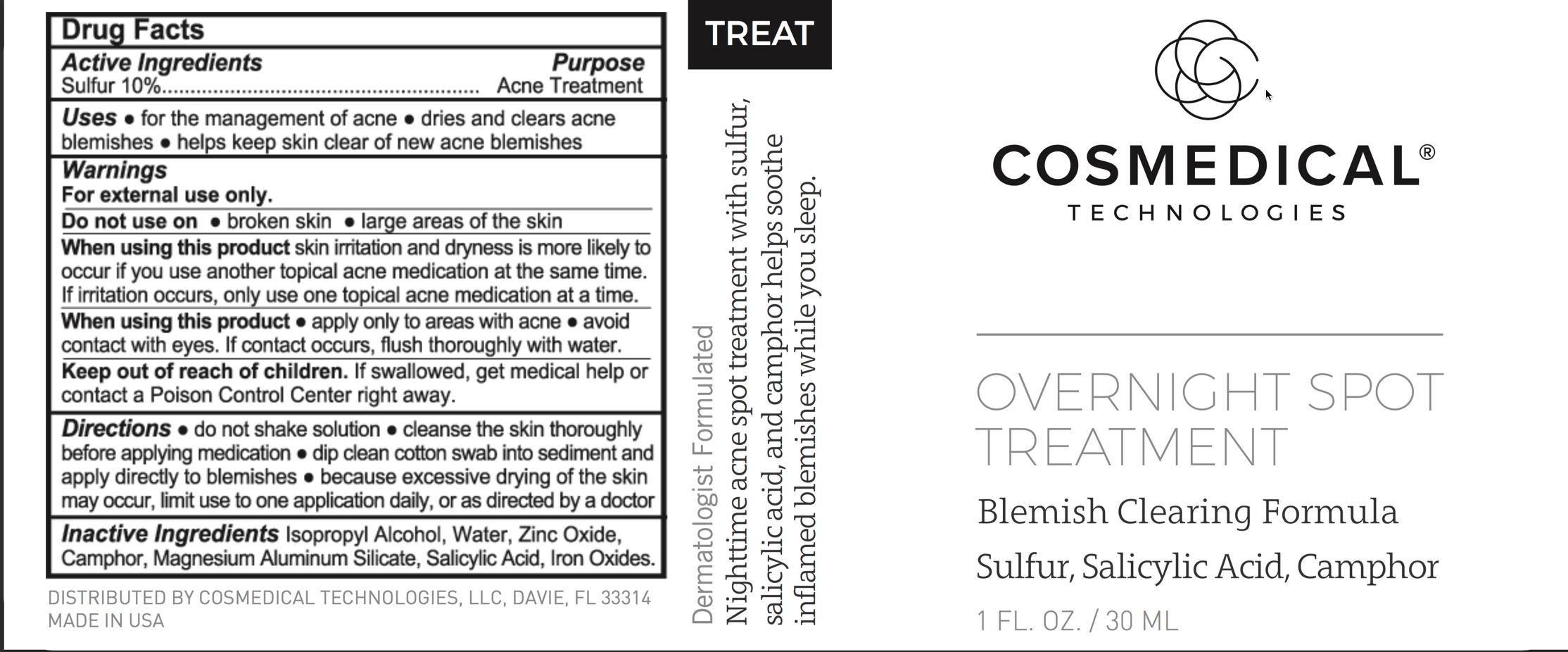 Overnight Spot Treatment   Acne Treatment Liquid Breastfeeding