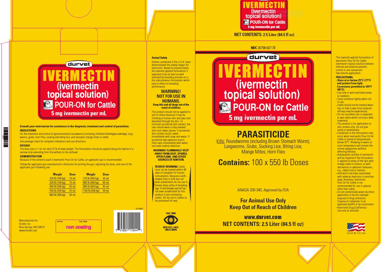 image of 2.5 L carton/case label