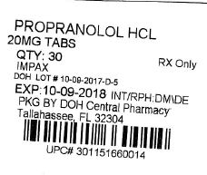 Label Image for 20mg
