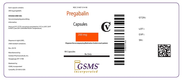 Pregabalin Caps 200 mg 51407-514-90.jpg
