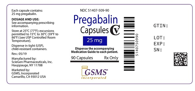 Pregabalin Caps 25 mg 51407-509-90.jpg