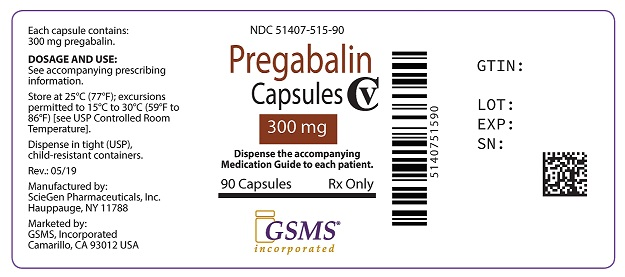 Pregabalin Caps 300 mg 51407-515-90.jpg