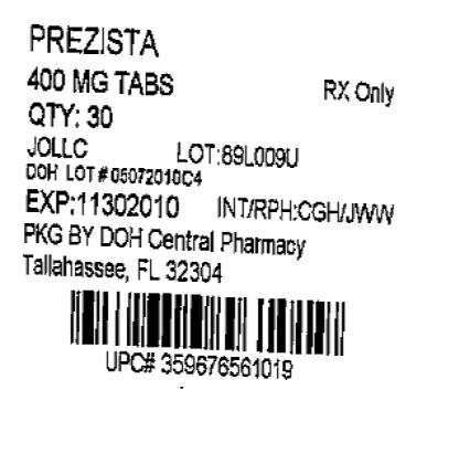 PRINCIPAL DISPLAY PANEL - 400 mg  Label
