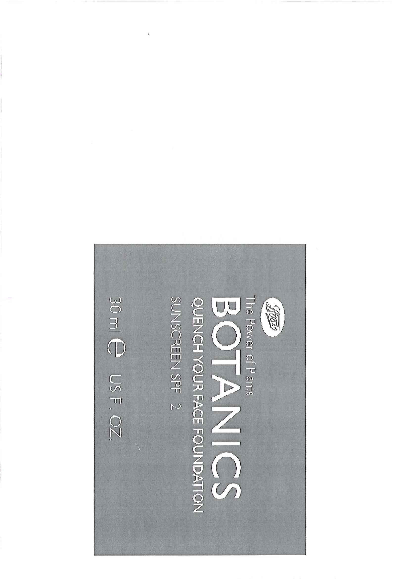 Is Botanics Quench Your Face Foundation Sunscreen Spf 12 Star Anise 40 safe while breastfeeding