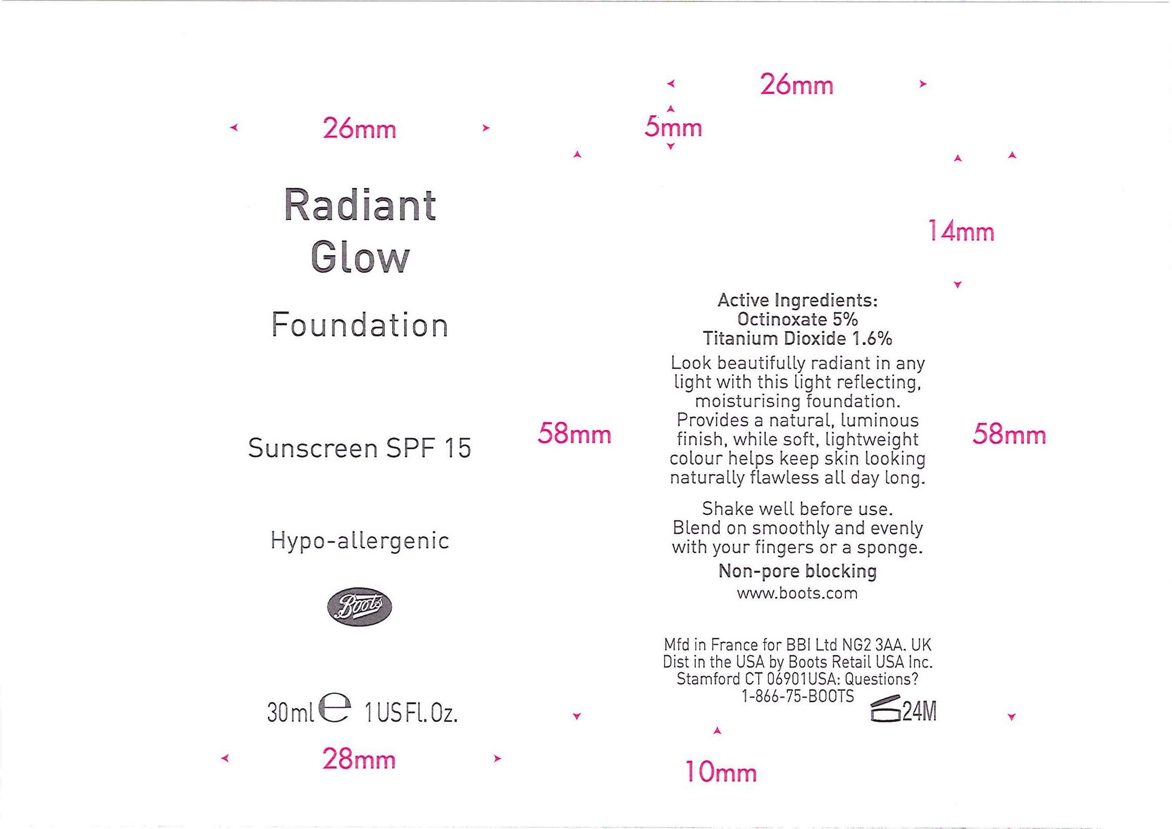 Is No7 Radiant Glow Foundation Sunscreen Spf 15 05   Octinoxate And Titanium Dioxide Emulsion safe while breastfeeding