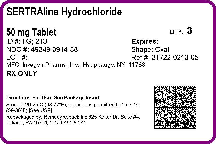 Sertraline Hydrochloride | Remedyrepack Inc. Breastfeeding