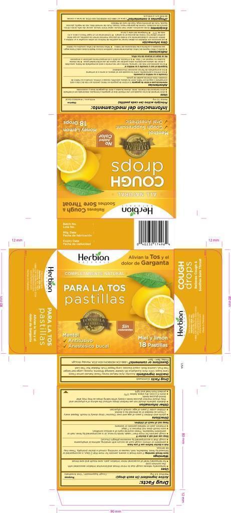 Herbion Naturals Honey Lemon Cough Drops   Herbion Pakistan (pvt) Ltd while Breastfeeding