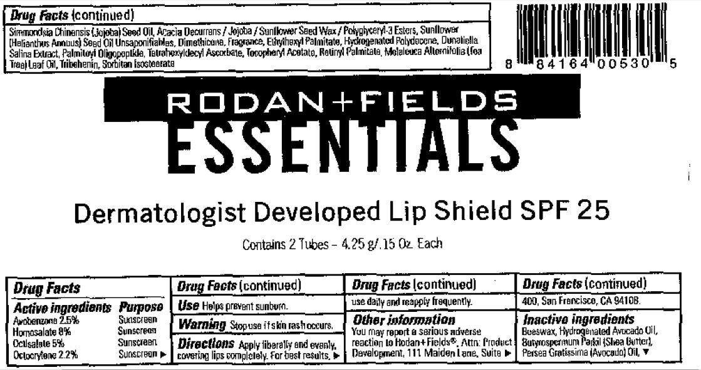 Rodan And Fields Essentials Lip Shield Spf 25 Breastfeeding