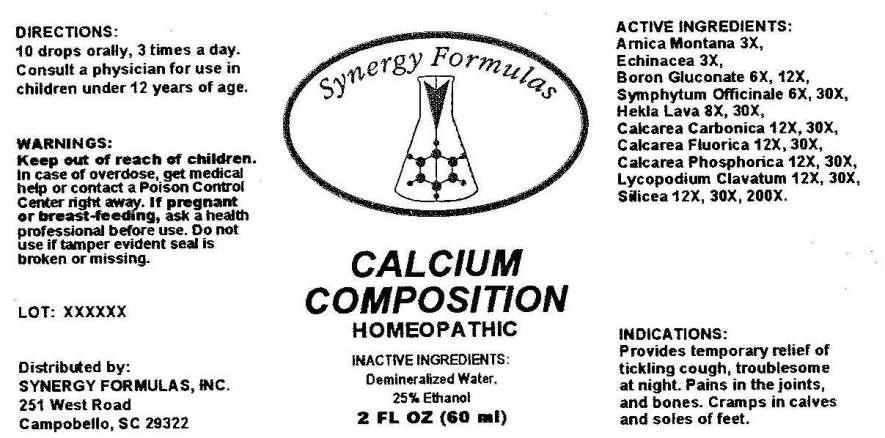 Calcium Composition