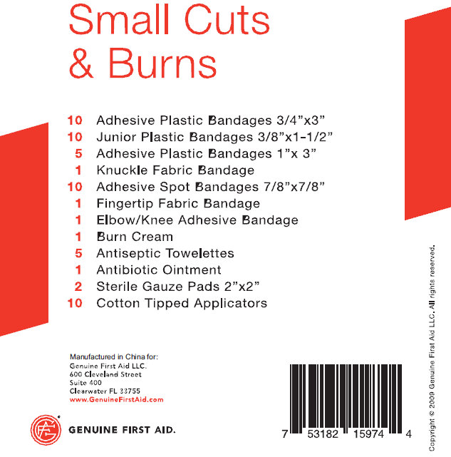 Small Cuts and Burns