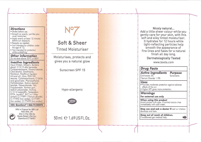 No7 Soft And Sheer Tinted Moisturiser Fair | Octinoxate And Titanium Dioxide Emulsion Breastfeeding