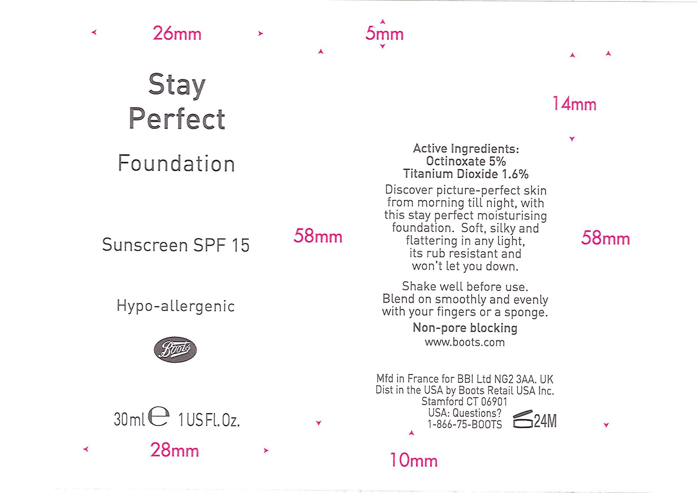Is No7 Stay Perfect Foundation Sunscreen Spf 15 Opal 01   Octinoxate And Titanium Dioxide Emulsion safe while breastfeeding