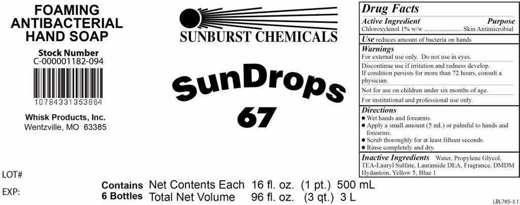 Sundrops 67   Chloroxylenol 1 G In 100 G Breastfeeding