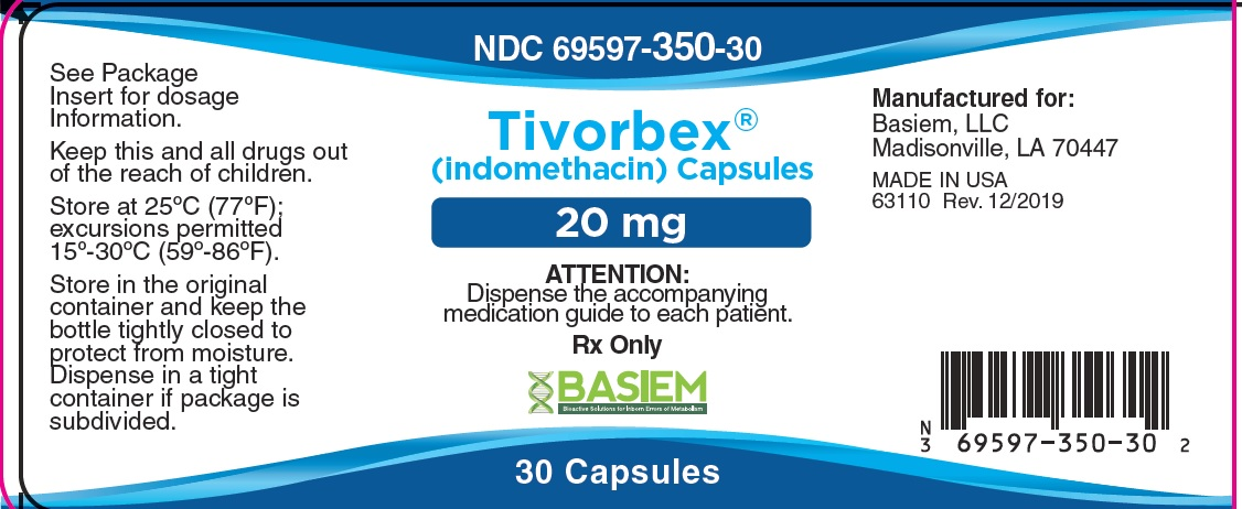 Tivorbex Label 20mg