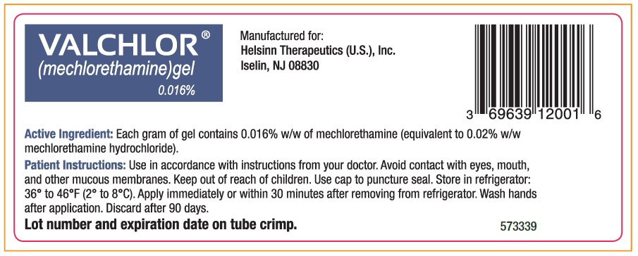 Tube label back