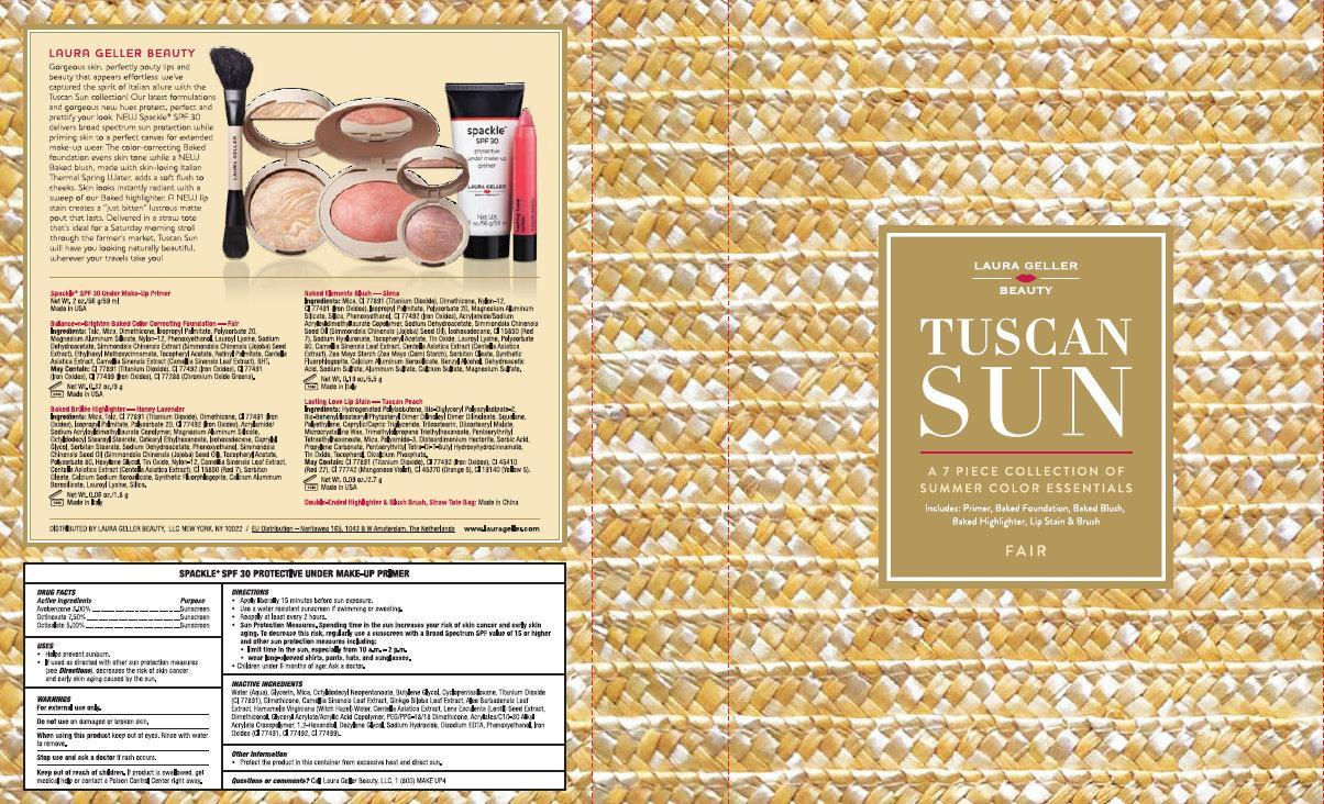 Is Laura Geller Beauty Tuscan Sun Spackle Spf 30 Protective Under Make-up Primer Fair safe while breastfeeding