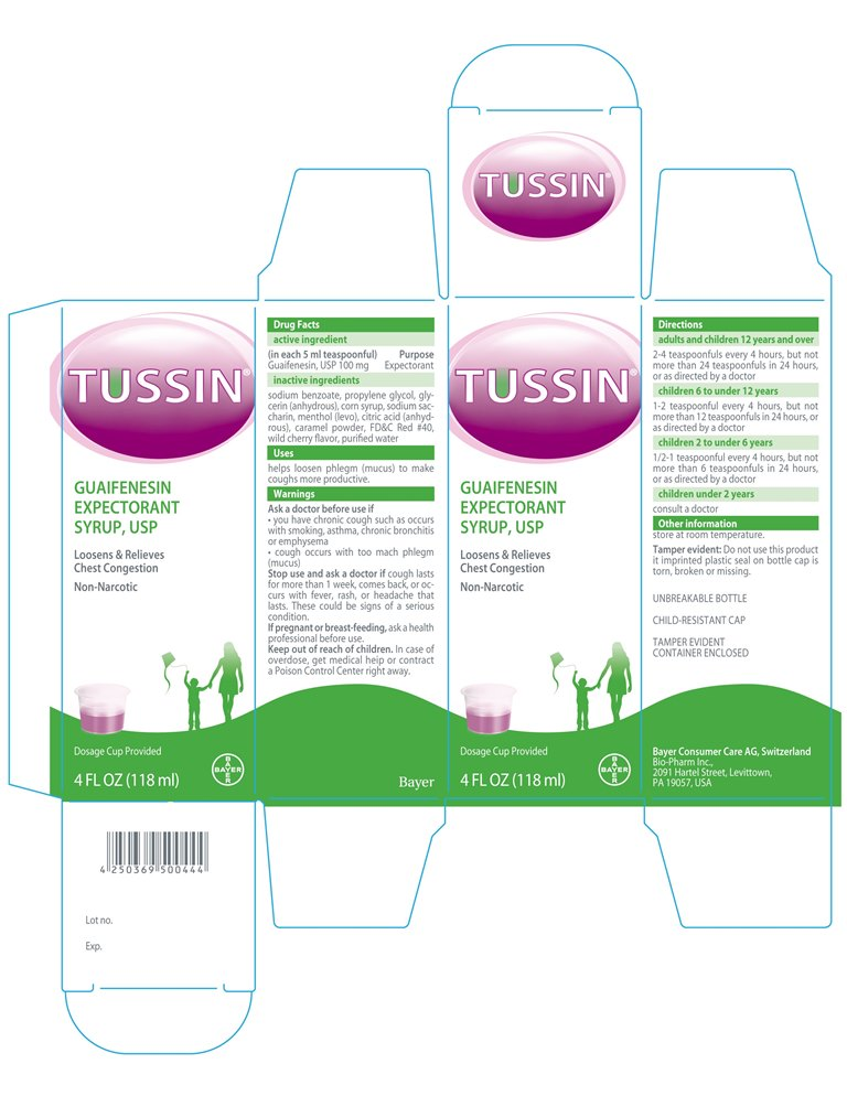 Tussin Guifenesin Expectrorant Syrup | Guifenesin Syrup while Breastfeeding
