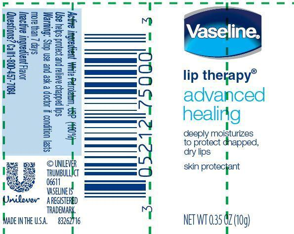 Vaseline Lip Therapy Advanced Healing   Petrolatum Ointment Breastfeeding