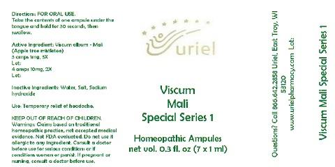 Viscum Mali Special Series 1 7ml Liquid Breastfeeding