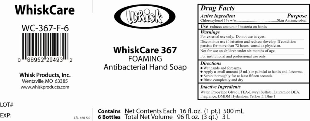 Whiskcare 367   Chloroxylenol Soap Breastfeeding