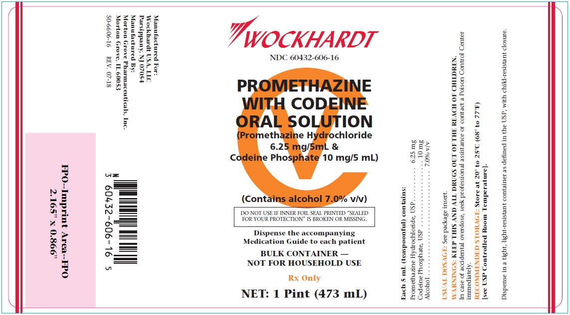 Promethazine with Codeine Label