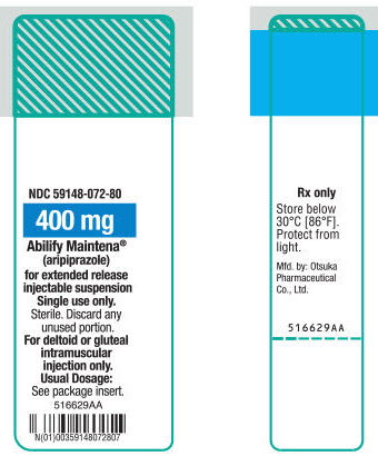 PRINCIPAL DISPLAY PANEL - 400 mg Syringe Label