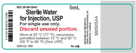 PRINCIPAL DISPLAY PANEL - 5 mL Vial Label