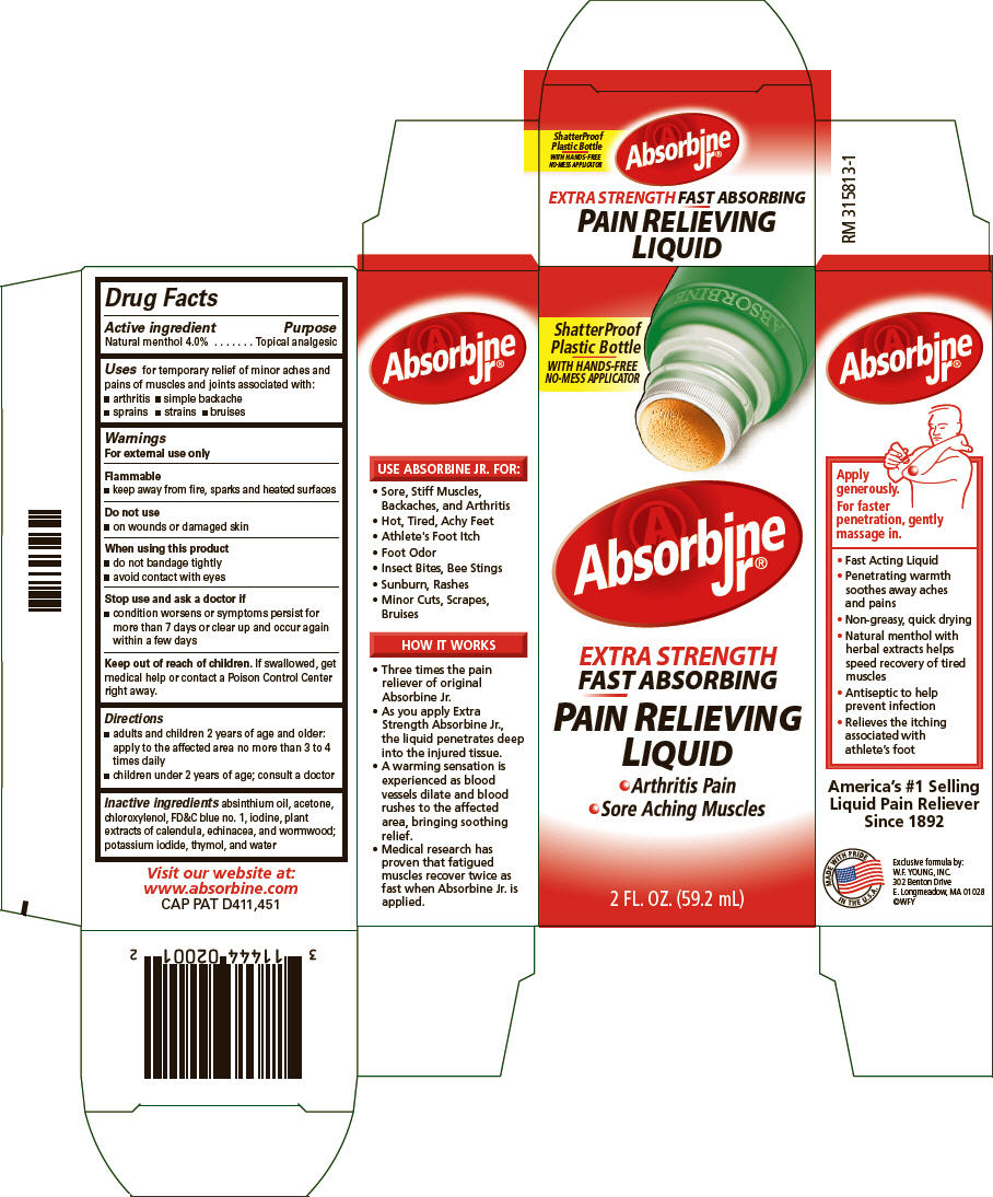 Absorbine Jr. Extra Strength   Menthol Liquid while Breastfeeding