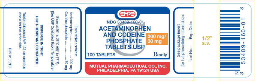 PRINCIPAL DISPLAY PANEL - 300 mg/30 mg Bottle Label