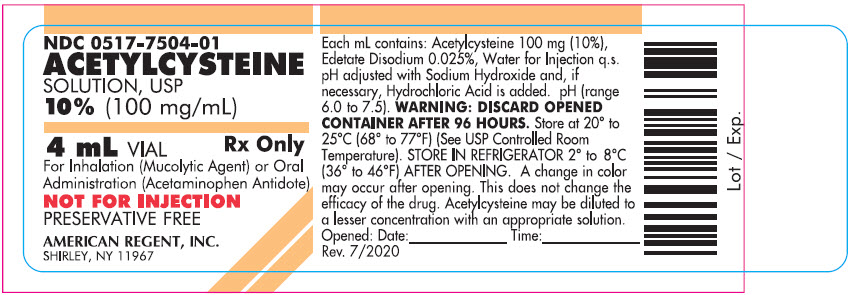 4 mL (10%) Container Label