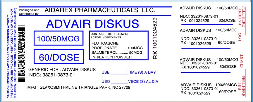 These Highlights Do Not Include All The Information Needed To Use Advair Diskus Safely And Effectively See Full Prescribing Information For Advair Diskus Advair Diskus 100 50 Fluticasone Propionate 100 Mcg And Salmeterol 50 Mcg