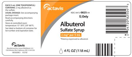 Is Albuterol Sulfate 2 Mg In 5 Ml safe while breastfeeding