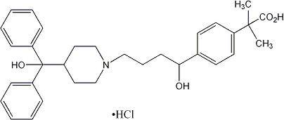 Allegra   Fexofenadine Hydrochloride .03 G Breastfeeding