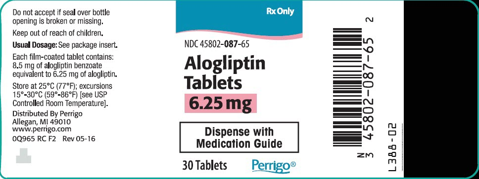 PRINCIPAL DISPLAY PANEL - 6.25 mg Tablet Bottle Label