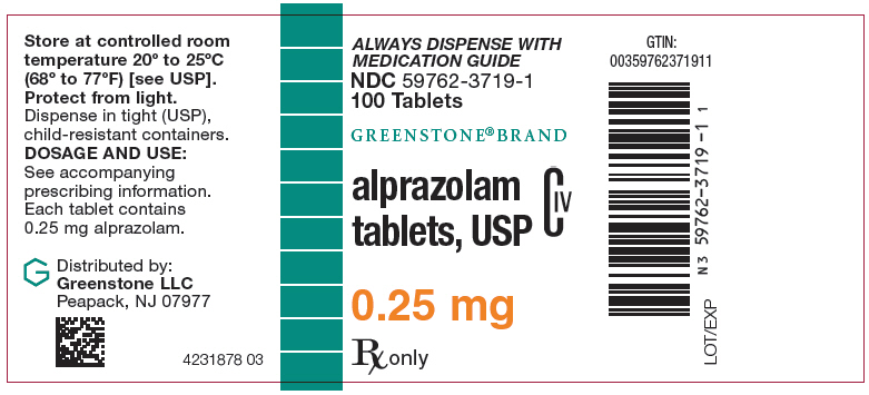 Principal Display Panel - 0.25 mg Bottle Label