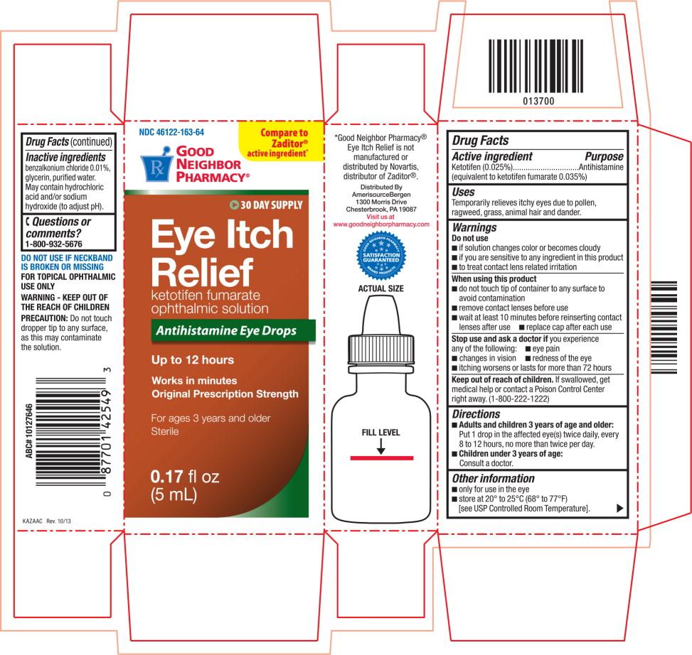 Is Eye Itch Relief | Amerisource Bergen safe while breastfeeding