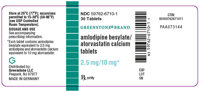 PRINCIPAL DISPLAY PANEL - 2.5 mg/10 mg Tablet Bottle Label