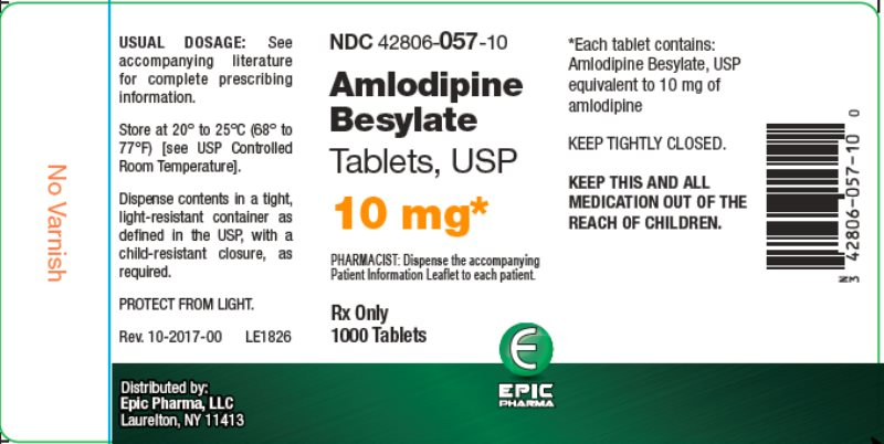 amlodipine 10mg 1000ct