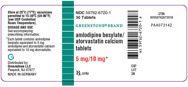 PRINCIPAL DISPLAY PANEL - 5 mg/10 mg Tablet Bottle Label