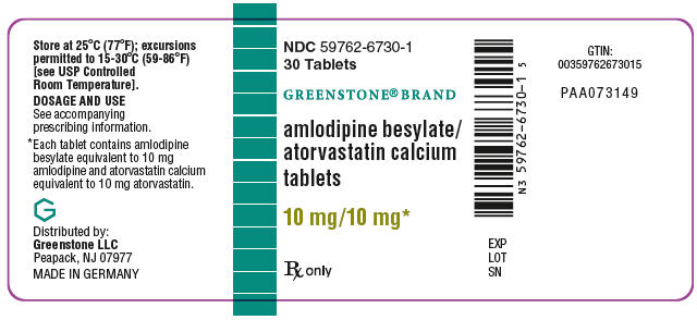 PRINCIPAL DISPLAY PANEL - 10 mg/10 mg Tablet Bottle Label